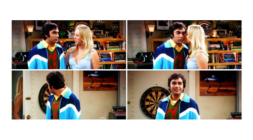 Raj: She's so considerate.  The Big Bang Theory, 2x04: The Griffin Equivalency  I love their friendship so much.  Would like more of it, show.  Plz.