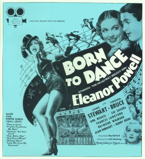 Poster for Born To Dance (1936)