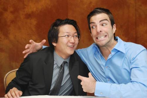 dontbreakeven:  Masi Oka: He's going Sylar on me!!! :P