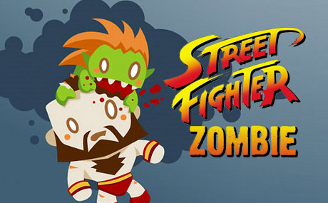 "agentmlovestacos:  I like this Street Fighter Zombie illustration by Appley Rotten mostly because Zangief looks so confused. He's like, ""Who's responsible for this?!"" via @justinrampage:  Check out these cool Street Fighter Zombie illustrations by Appley Rotten (deviantART) (@Piximix)! Via: zombify 