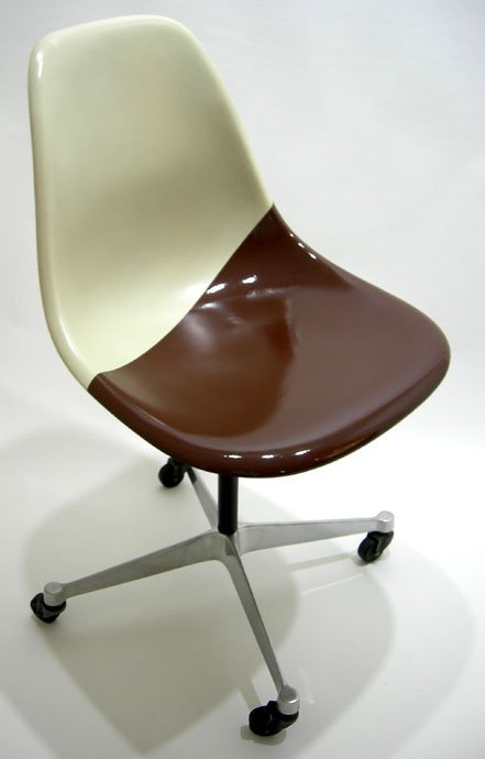 On the one hand, I like how the chair looks like it's dipped in chocolate. On the other hand, it also looks like the chair's previous occupant had IBS.