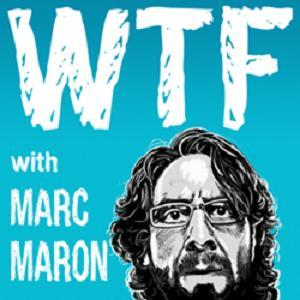 I'm on the new episode of Marc Maron's podcast WTF. Interview, songs and a special relative stops by!