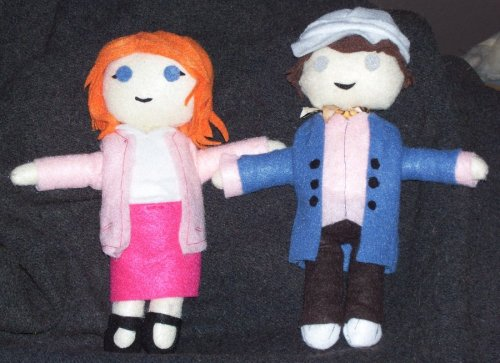 more glee dolls! :D Kurt and Emma from Glee by KittehShmoo