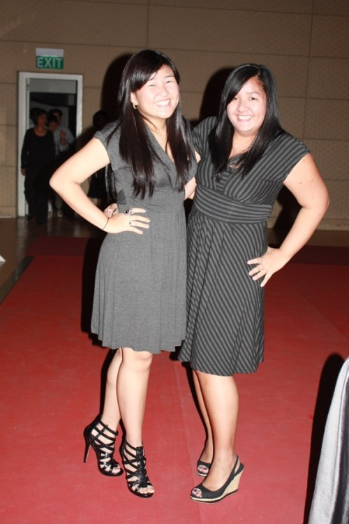 We wore the same dress! Lol