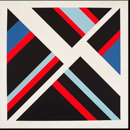 Illya Bolotowsky: Black Diamond (1978)