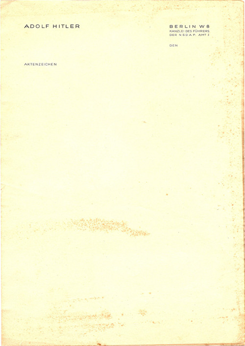 letterheady:  Adolf Hitler | Source