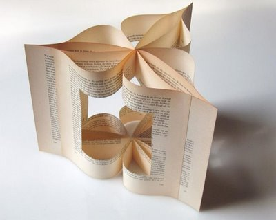 More Michael Bom's folded books/pages