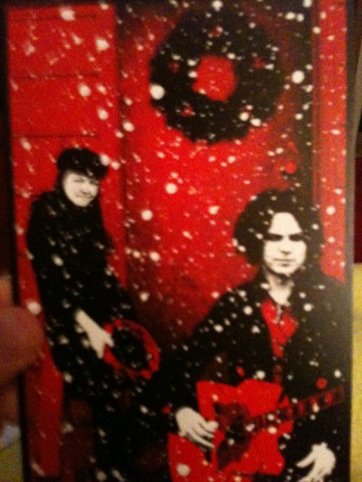 A Belated Merry Christmas from The White Stripes.