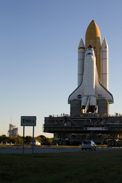 Endeavour Roll-out for STS130