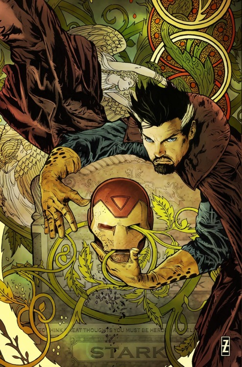 Invincible Iron Man #22 variant cover by Patrick Zircher on sale next week —read a preview right now at CBR!