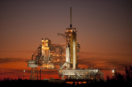 "moderation:  Just 5 Missions Left for NASA's Space Shuttles… The end is beginning for NASA's three aging space shuttles, with just five more missions on tap this year before the orbiter fleet retires in the fall. That is, unless NASA needs a few more months to fly those remaining missions or President Barack Obama chooses to extend the shuttle program to fill a looming gap in U.S. human spaceflight capability. Though the ultimate path forward for NASA has not yet been decided, the space agency is at a turning point after nearly 29 years of shuttle flight. ""Obviously it's the end of an era,"" said Roger Launius, space history curator at the Smithsonian's National Air and Space Museum. ""There's a certain amount of nostalgia and a sense of loss, no question."" The very last space shuttle flight, the STS-133 mission of the shuttle Discovery to the International Space Station, is scheduled for September 2010. The launch will be the 134th shuttle voyage since the fleet's debut in 1981. ""It's starting to hit home, I have to admit to you,"" said NASA's shuttle launch director Mike Leinbach after the Nov. 16 liftoff of Atlantis on the STS-129 flight, the fifth and last shuttle trip of 2009. ""After this one, there's one more scheduled for Atlantis, two more for each of the other vehicles."" via space.com  <sad>"
