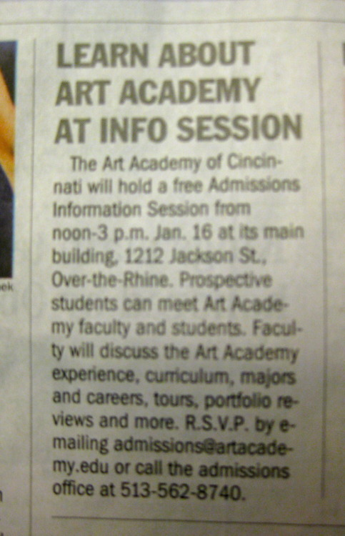 #Cincinnati Media Covers Art: Learn About Art Academy - via @Cincienquirer