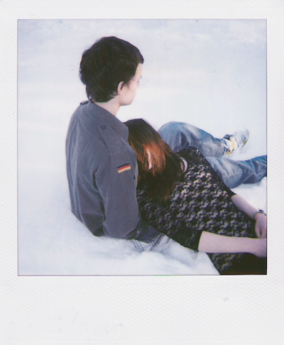 mysticalandshit:  thinpolaroids:  jessieroth:  caravans:  january 2010 diary: tom and rachel today