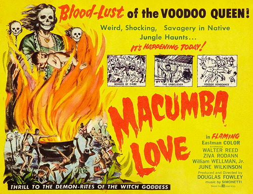 Thrill to the Demon-Rites of the Witch Goddess Macumba Love (1960)