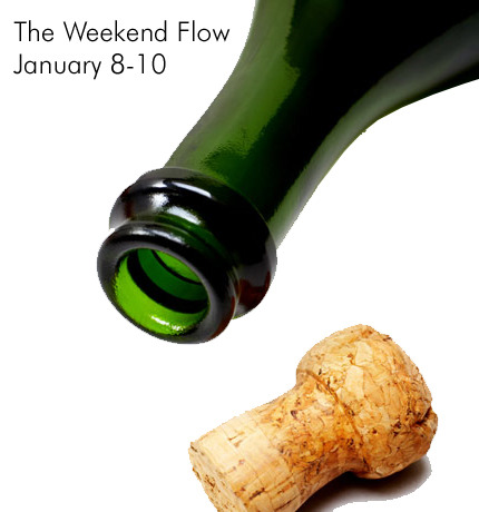 The Weekend Flow: January 8-10It's a new year, and it's time to get down.FRIDAY, JANUARY 8Grand Opening Art Bash of D'Monstrative Studios7pm-MidnightFree booze. Bring your own shirt for $5 screen printing. Photobooth.Free, no RSVPD'Monstrative Studios, 209 E. Ben White Blvd, Suite.213L.A.X, Auto Body, Freshmillions, GOBI and DJ ThibaultFree Week show at The ParishDoors at 8pmFree, no RSVPThe Parish, 214 E. 6th St.The Laughing, Low Line Caller, Motel AvivFree Week Show at MohawkDoors at 9pmFree, no RSVPMohawk, 10th and Red RiverCorto Maltese, Candi & The Strangers, She SirFree Week show at Club DeVilleDoors at 9pmFree, no RSVPClub Deville, 900 Red River St.Slow Down Lady and Jesse WoodsFree Week show at Stubb'sDoors at 9pm; Slow Down Lady at midnightFree, no RSVPStubb's, 801 Red RiverSATURDAY, JANUARY 9Flying Saucer 2nd Anniversary Party2-10pmTapping special kegs each hour: St. Arnold Divine # 9, 2007 Dogfish Head 120, Dogfish Head Pangea, Sierra / Dogfish Life & Limb, Allagash Victor, Sierra Nevada Edge of Darkness (Cask), (512) Whiskey Pecan Double Porter, Stone Double Bastard, Randalized Breckenridge 471, with Fresh Pineapple & MangoEntry is free, no RSVPFlying Saucer, 815 W. 47th St.Bijou Studio's Grand Opening Party7pm-2amFree beer and finger foods. Other cool stuff: door prizes, raffle, photo booth with Alison Narro, and gift bags for the first 50 people in the door.Free, no RSVPBijou Studio 1618 E. 6th St.T-Bird and the Breaks, The Carrots, The Ugly Beats, The Hi-Tones, Missions, Clouds are Ghosts, Death is Not a JoyrideFree Week show at Mohawk, featuring live performance art, compilation CD for first 100 people, prizes and moreDoors at 9pmFree, no RSVPMohawk, 10th and Red RiverBright Light Social Hour w/ The Frontier Brothers, Dertybird, MotelAviv, DJ Billy QFree Week show at The ParishDoors at 8pmFree, no RSVPThe Parish, 214 E. 6th St.DJ Car Stereo (Wars) w/ All My Friends / Mothfight / The LaughingFree Week show at Beauty BarDoors at 9pmFree, no RSVPBeauty Bar, 617 E. 6th St.Image credit: The Daily Greenhttp://www.thedailygreen.com/