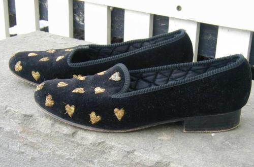It's On Ebay Berk velvet slippers Starting at $50, ends Tuesday