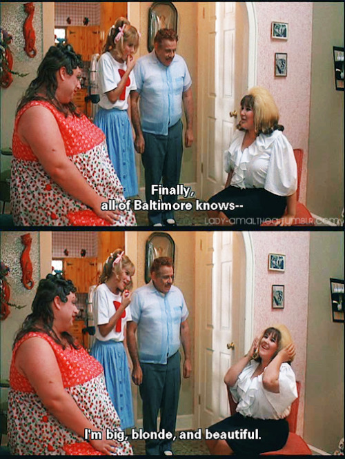 bbwprincess:  lady-amalthea:  Hairspray (1988)