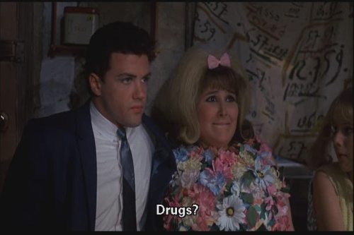 Hairspray (1988) Ok I am pretty much posting this cus of the look on her face lol