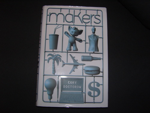 The first book I read this year, Makers by Cory Doctorow, was hugely disappointing. I love the short story collections that I've read by the same author, and his other novels are quite good too, but this was just awful. By the end I was actually annoyed by how bad it was and I just wanted it to be over as soon as possible. The plot just never went anywhere, the characters were one dimensional and not developed at all, and were all irritating (especially the ones that were obviously supposed to be the good guys who were in the right), and the whole book felt more like an excuse for the author to forward his ideas and opinions rather than a novel (presenting new ideas in fiction is good when done well, but this was not done well at all). So overall, disappointing because I hate reading bad books and because I was looking forward to reading this and I'd expected much better from this author.
