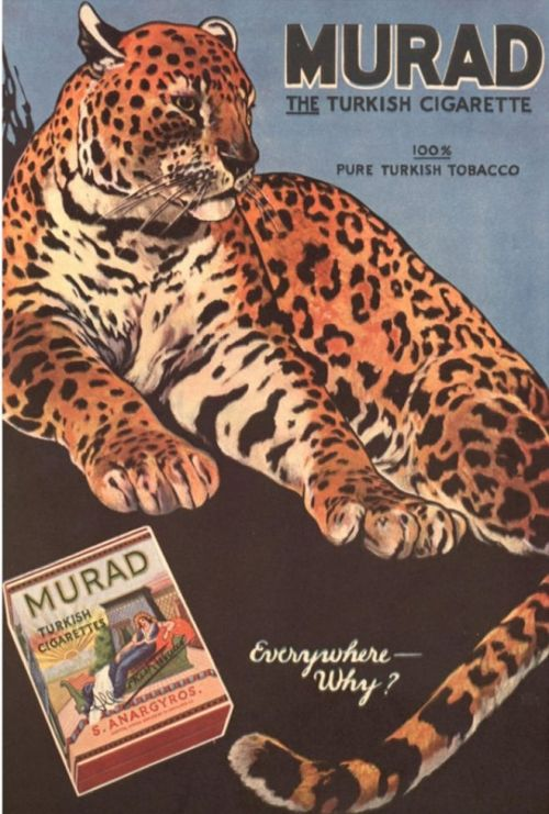 Turkish Cigarettes Murad Vintage Advia