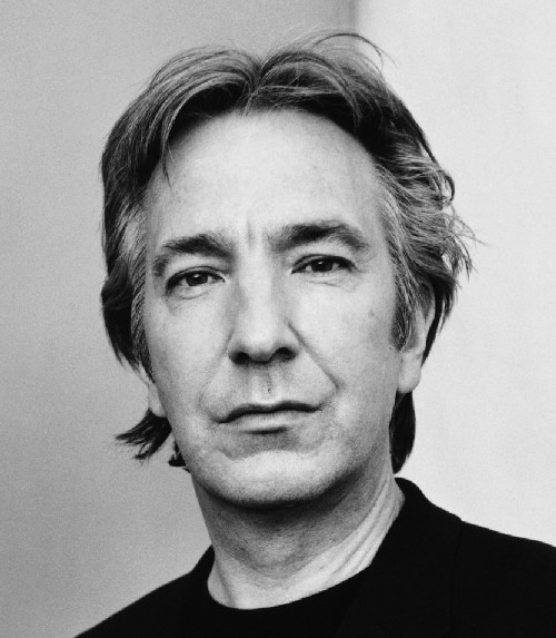 Why He's Hot:  Okay so Alan Rickman is old enough to be your dad—maybe even grandfather. Does it really matter? Have you heard his voice? We've bought yards of velvet just to rustle it around to see if it really does sound like Alan. It does. Forget porn, we'll just listen to him read the dictionary. If you don't want to do him yet, just watch this, and you will. You can thank us later for that orgasm. He's in HARRY POTTER. You can pretend you haven't had fantasies about Professor Snape punishing you for bad behavior. We'd kill if that meant a spanking from our favorite teacher. He plays the hot bad guy and the sensual heartthrob. Can you say: fuckk mee? He can sport a beard or be clean shaven, we don't care as long as he's banging us. Not ony is he ridiculously sexy, he's funny. What else goes better with intelligence and good looks? Oh we know, the family guy factor. Maybe it's a daddy thing but we love his committment to long time girlfriend Rima Horton. He can tuck us in any night ;) Ah, fuck that shit, we just want him in bed. {submission}