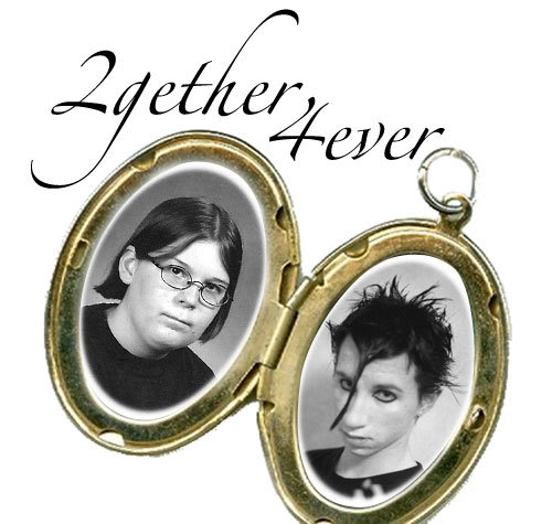 "makesomethingawfuleveryday:  ""2GETHER 4EVER""  MAKE THAT 6EVER"