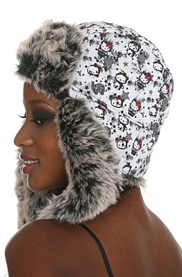 Hello Kitty Classic Backward Pilot Hat - $20.00