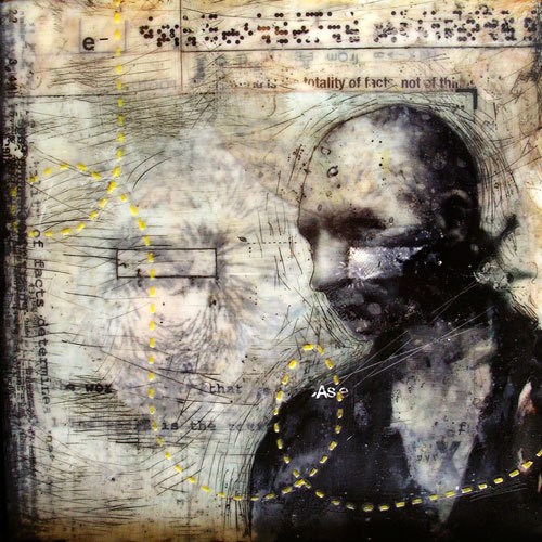 thebeeskneesencaustics:  More on the brilliant Encaustic artist, Christian Faur. Check out his website; www.christianfaur.com