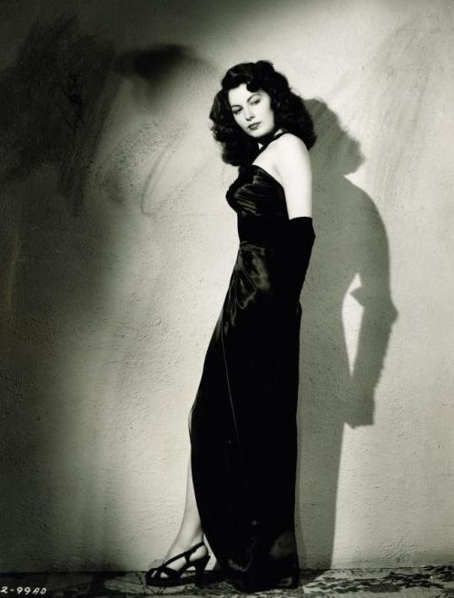 """You touch me and you won't live 'till morning."" -Ava Gardner in The Killers (1946, dir. Robert Siodmak) Photo by Ray Jones."