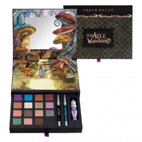 Urban Decay limited edition Alice in fuckin Wonderland palette…sooooo stoked i cant even stand it.