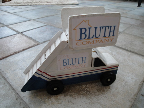 I have entered a pinewood derby race with my Arrested Development Stair Car.  Just watch out for hop-ons.