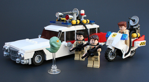 LEGO Ghostbusters (via Rocko™)