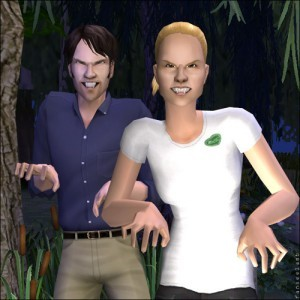 They Made Us Into SIMS!!!! @SookieStackTB