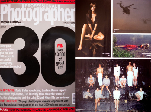 Feature in Professional Photographer, January issue! =)