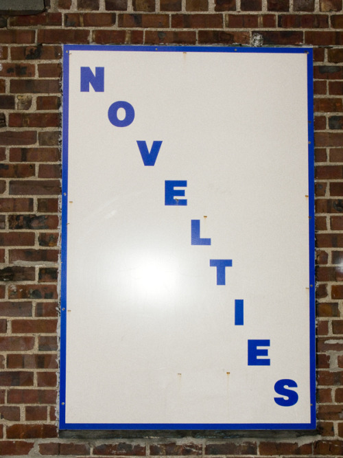 terrysdiary:  Novelties