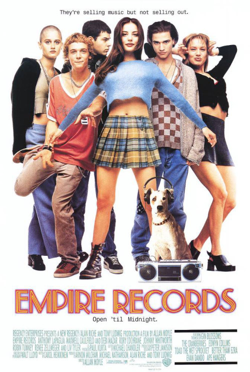 One of my all-time favorite movies (I'm not even kidding): Empire Records! (Courtesy of brimichelle.)
