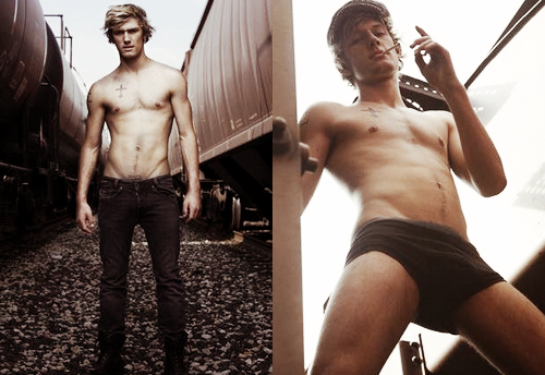 alex pettyfer for a photoshoot with greg gorman, 2009.
