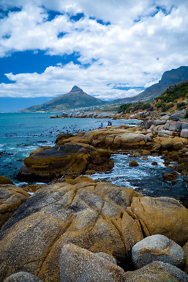 """Coast near Cape town"" Fine Art Print by Viv van der Holst [126053-11] - RedBubble"