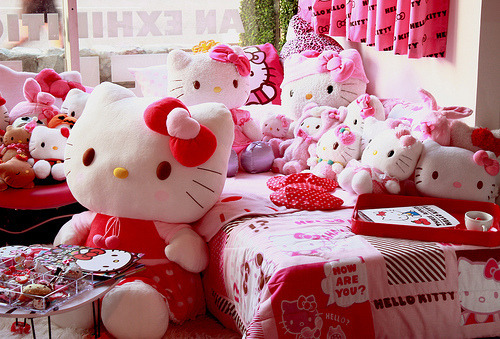 Hello Kitty Bedroom at Three Apples