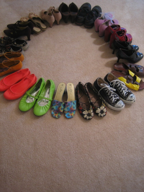 a few funky shoes…