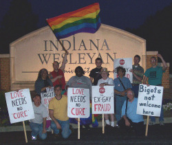 "GLN Protests Against the ""Ex-Gay"" Fraud - June 27, 2006"