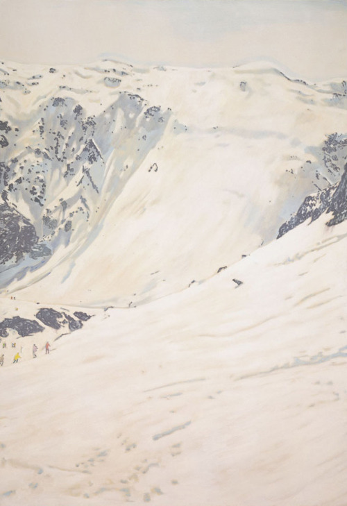 unavoceacaso:  Peter Doig, White Creep, 1995-1996