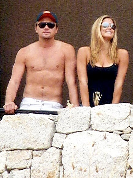 Leonardo DiCaprio with his equally hot girlfriend, Bar Refaeli, who happened to be the hot chick of the day on November 13.