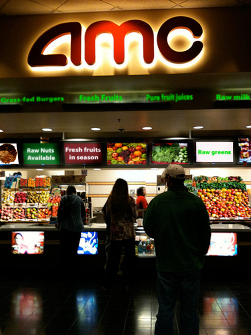 In a world… where movie theaters offer healthy food…