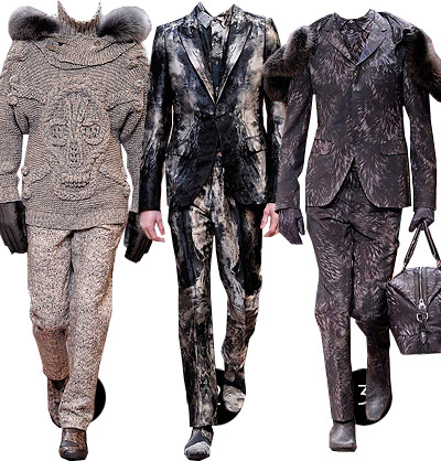 alexander mcqueen a/w 10 thoughts: there's no point in even thinking about mcqueen, meant in the best way possible.