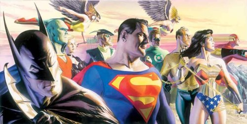 The Justice League Of America // artwork by Alex Ross (2005)