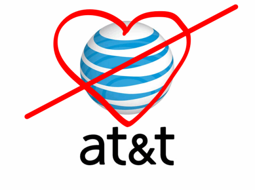 My love-hate relationship with AT&T continues… Just got off the phone with Otto (one of the best people on the planet and my producer at LiveStream) who informed me that AT&T now offers UNLIMITED NATIONWIDE MINUTES FOR $69.99 a month! That's a pretty good deal if you ask me. However, if you're currently paying more for limited coverage, they won't change your plan unless you call in and ask for the switch. Typical…. With as many calls as my iPhone drops, they should have implemented this a long time ago. Plus, their International Plan that charges you for incoming calls even if you don't pick up, and emails that you don't read is complete horse-sh!t. That's all.
