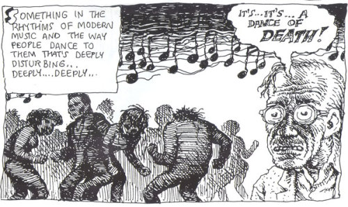 it's… it's… a dance of death! // robert crumb