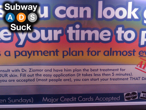 Train: D (EB)Advertiser: Dr. ZizmorIt takes less then 5 minutes… Seriously?