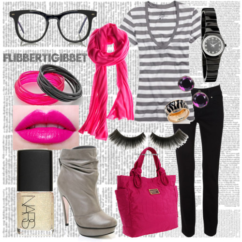 Wrreeeoowww. First ever polyvore! :D Yes, malandi talaga. HAHA. Hayaan mo na, first naman eh. Kung anu-ano lang nilagay ko, to experiment. Didn't really mind the style so much. :P